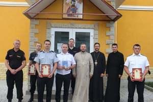 Богослужение в домовом храме при комиссариате полиции