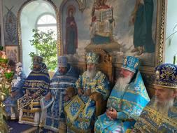 """Liturghia arhierească la hramul bisericii """"Nașterea Maicii Domnului"""" din Bălți"""
