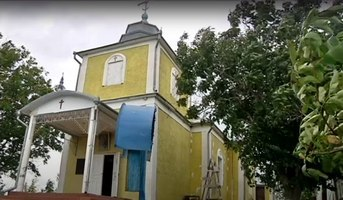 "Biserica ""Sf. Arh. Mihail şi Gavriil"" din Ustia"