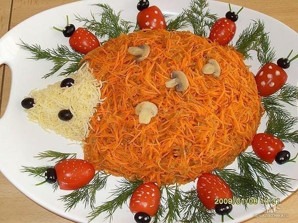 Кулинария салаты и оформление блюд с фото