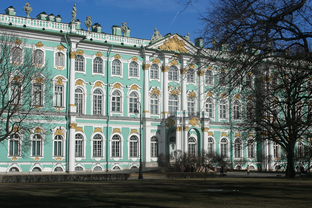 Зимний дворец и Эрмитаж (Winter Palace and Hermitage) > 29 Пальм ... | 667x1000