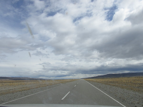Патагония наоборот, с юга на север.