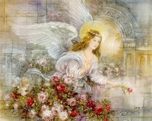 с днем рождения ангел картинки