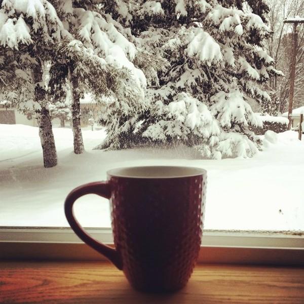 кофе зима картинки красивые природа сто
