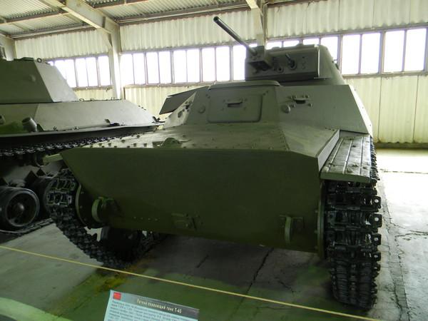 Лёгкий танк Т-40 (Военно-исторический музей бронетанкового вооружения и техники в Кубинке)