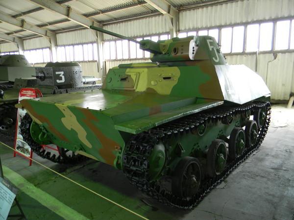 Лёгкий танк Т-30 (Военно-исторический музей бронетанкового вооружения и техники в Кубинке)