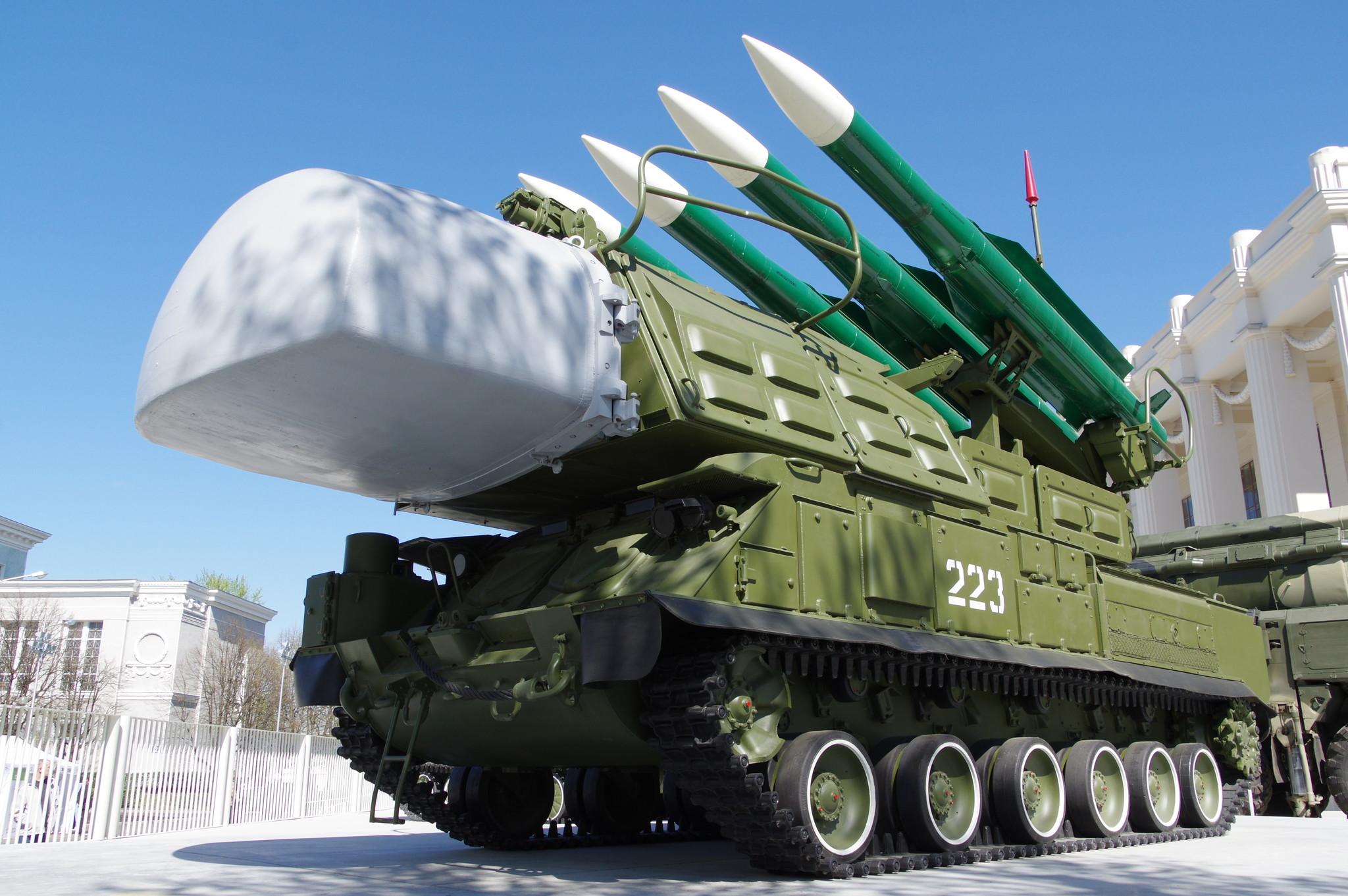 Зенитный ракетный комплекс «Бук» на ВДНХ