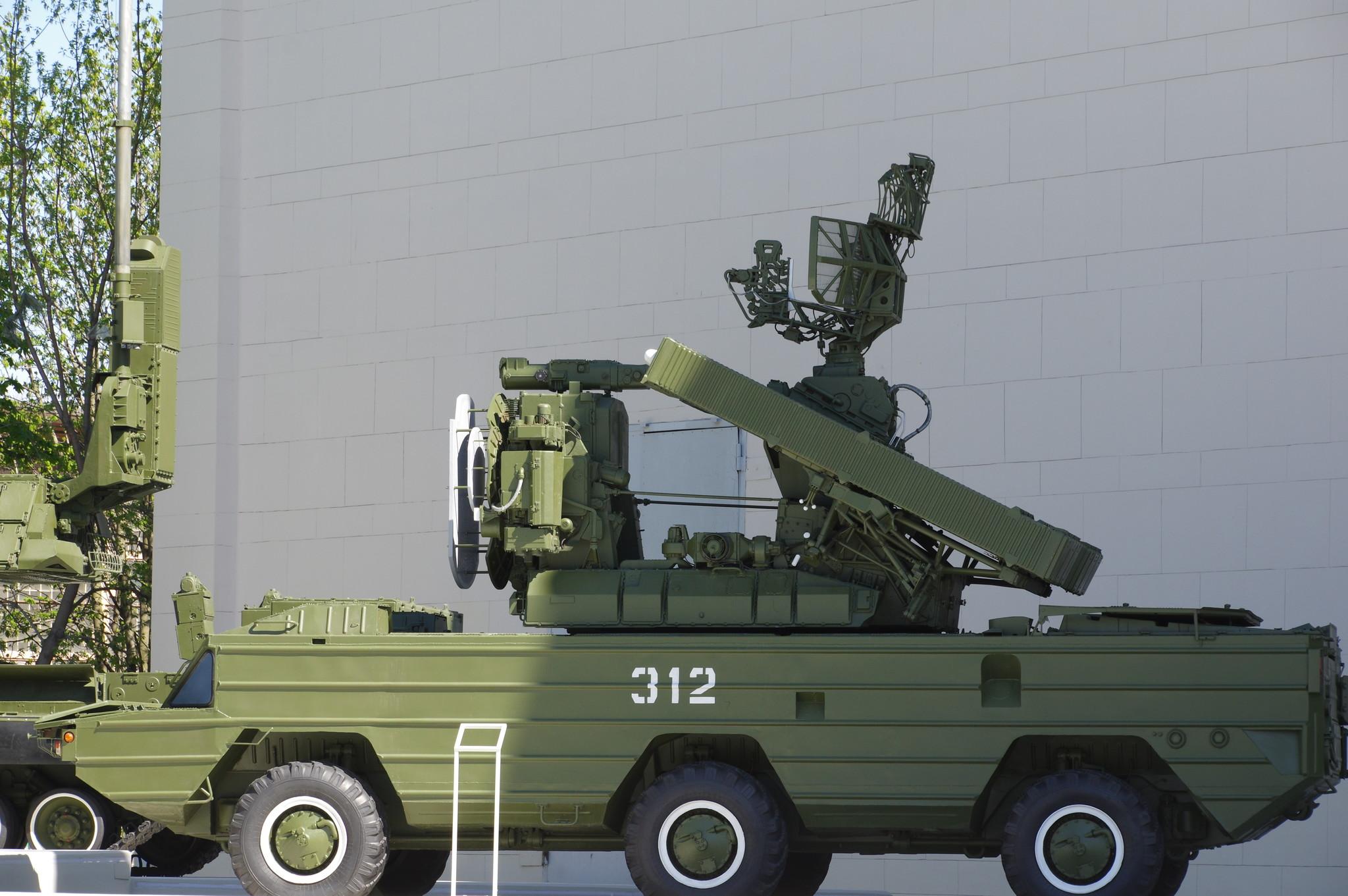 Зенитно-ракетный комплекс «Оса» на ВДНХ
