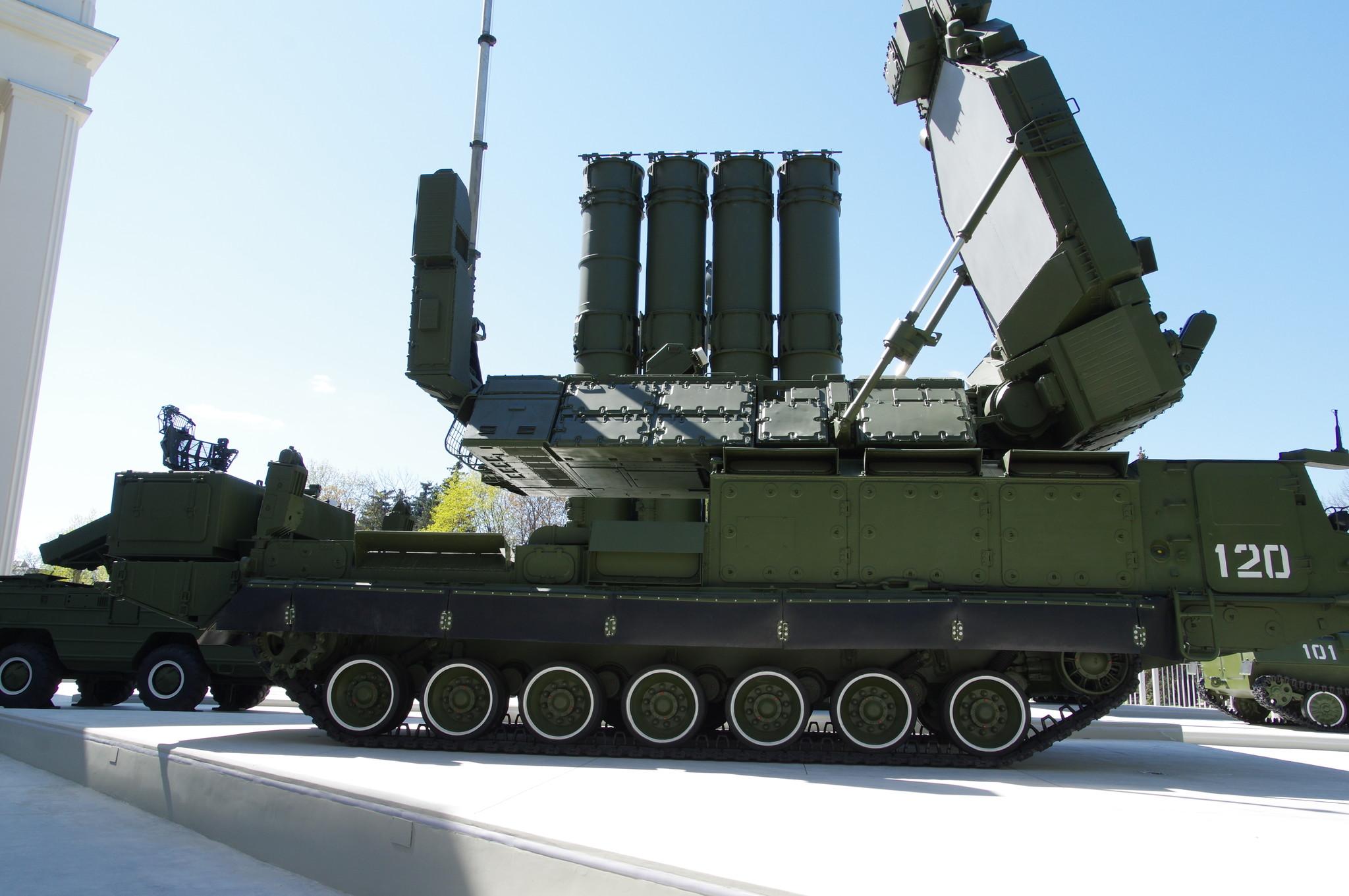 Зенитная ракетная система С-300В на ВДНХ