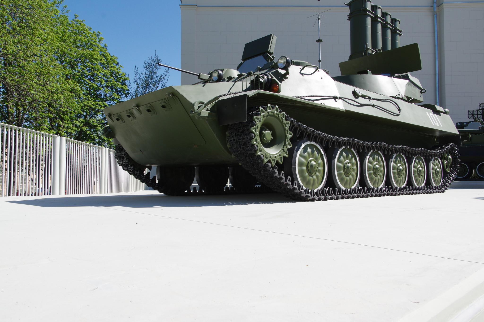 Выставка техники противовоздушной обороны на ВДНХ