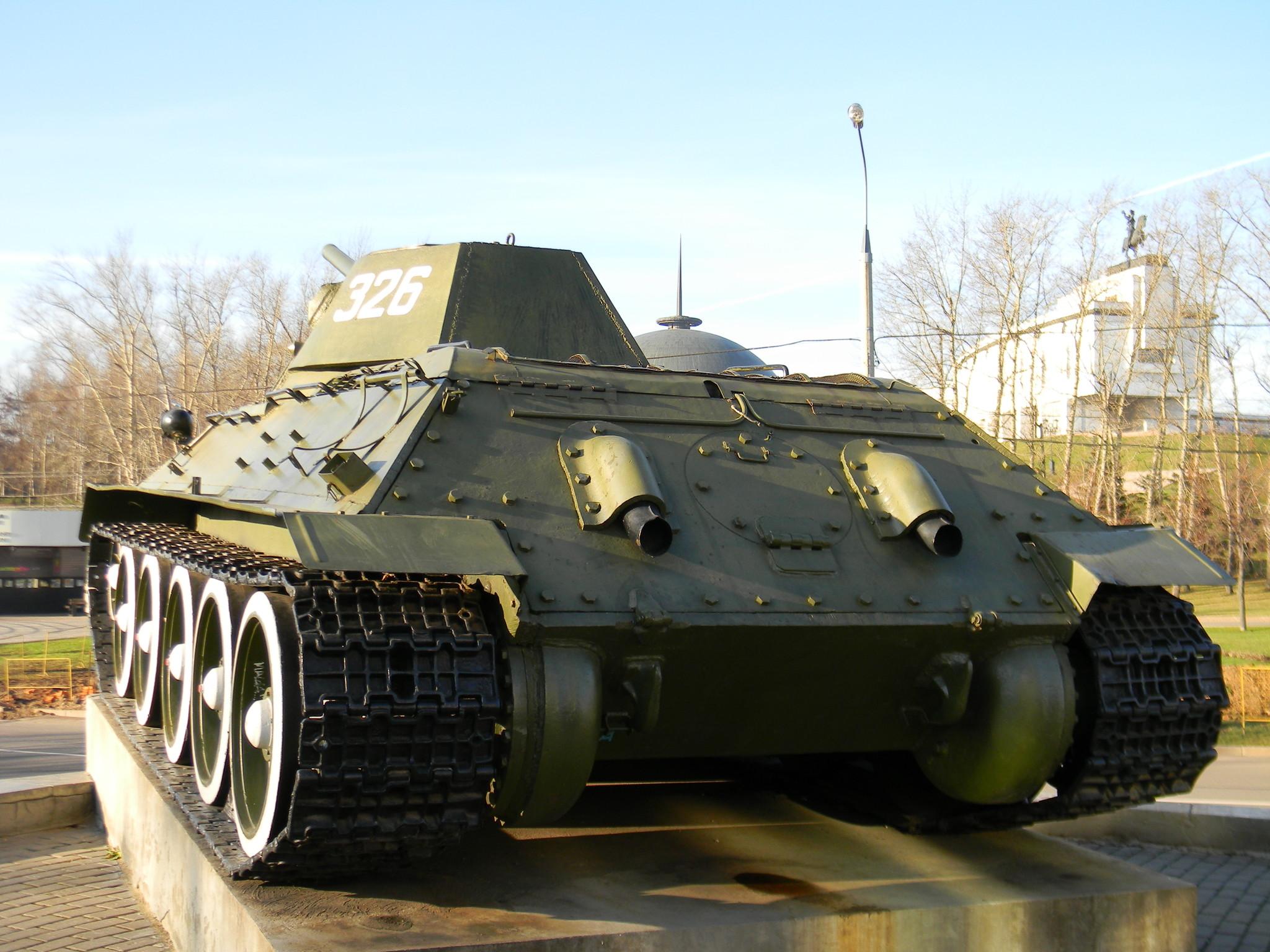 Cредний танк Т-34-76 (Центральный музей Великой Отечественной войны 1941-1945 гг.)