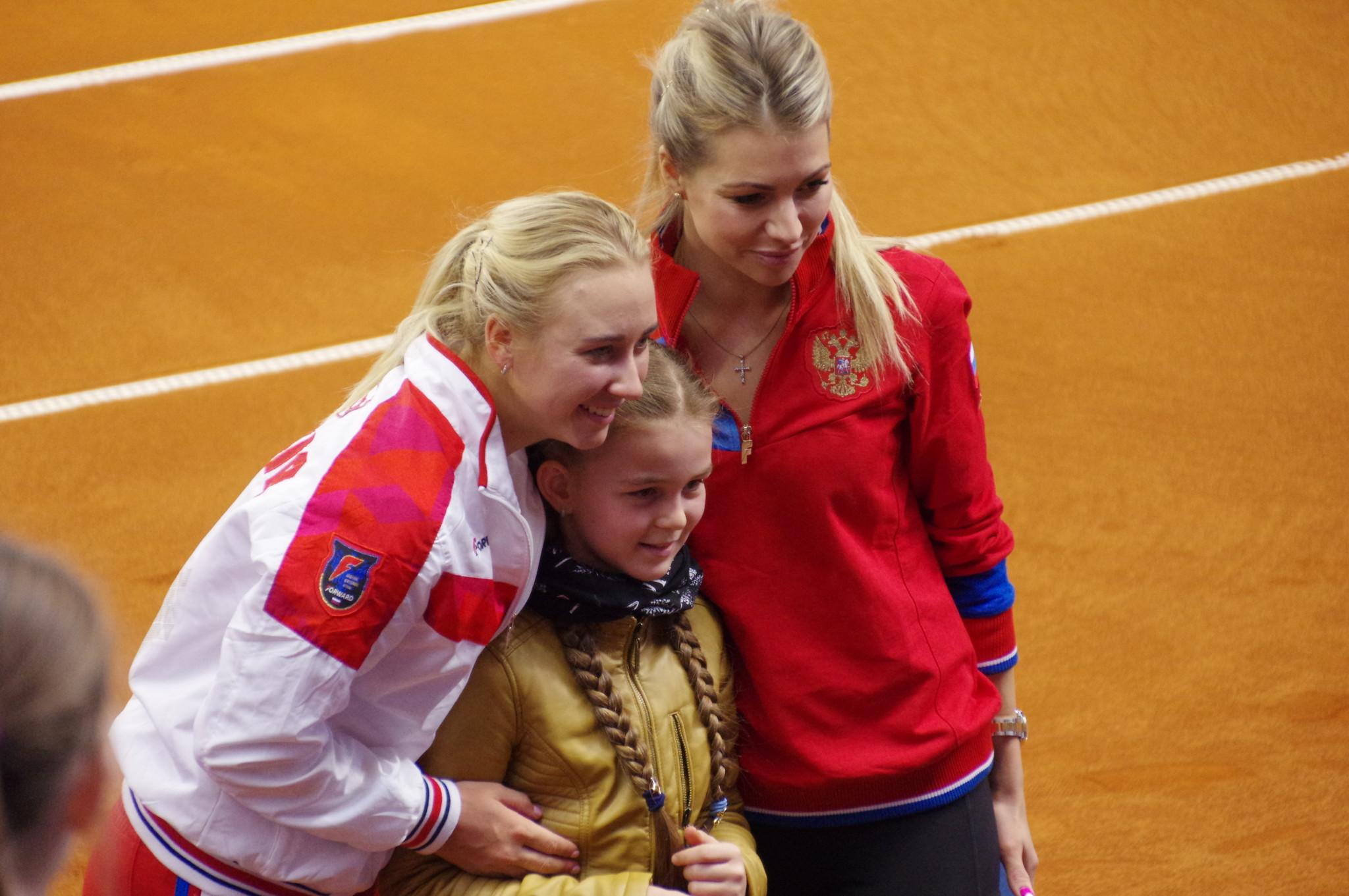 Анастасия Потапова и Мария Кириленко