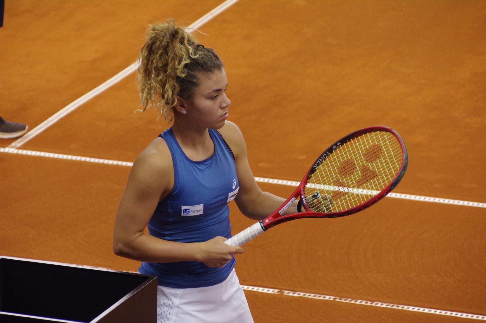 Итальянская теннисистка Жасмин Паолини