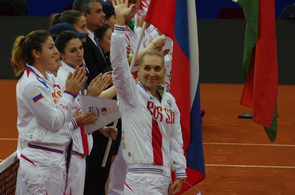 Заслуженный мастер спорта Елена Сергеевна Веснина