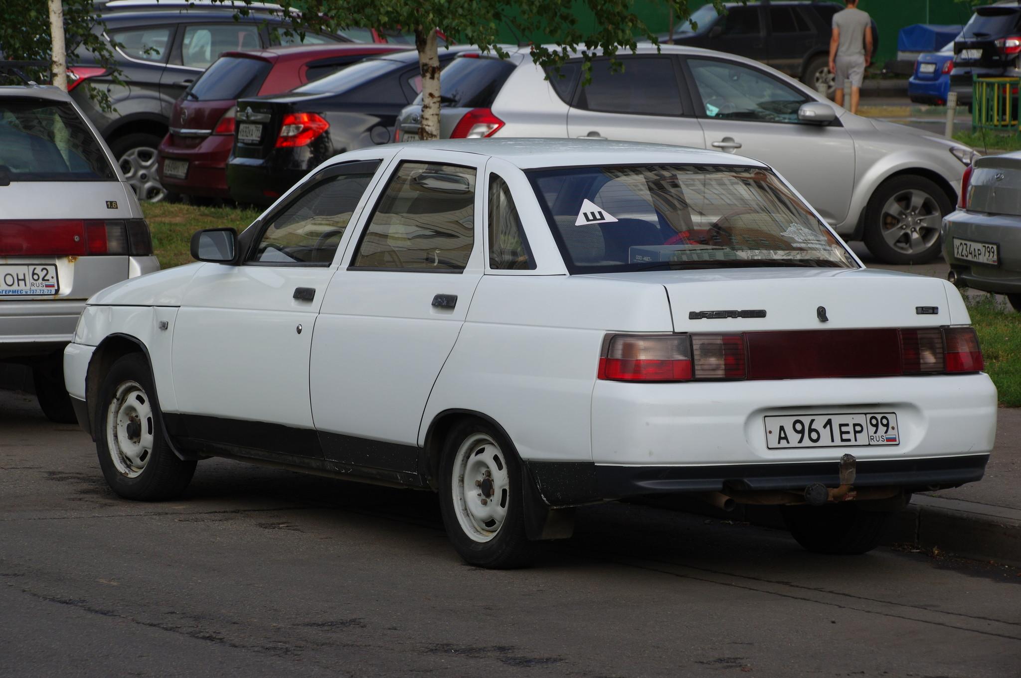 Автомобиль LADA 110 (ВАЗ 2110, он же Лада 2110)