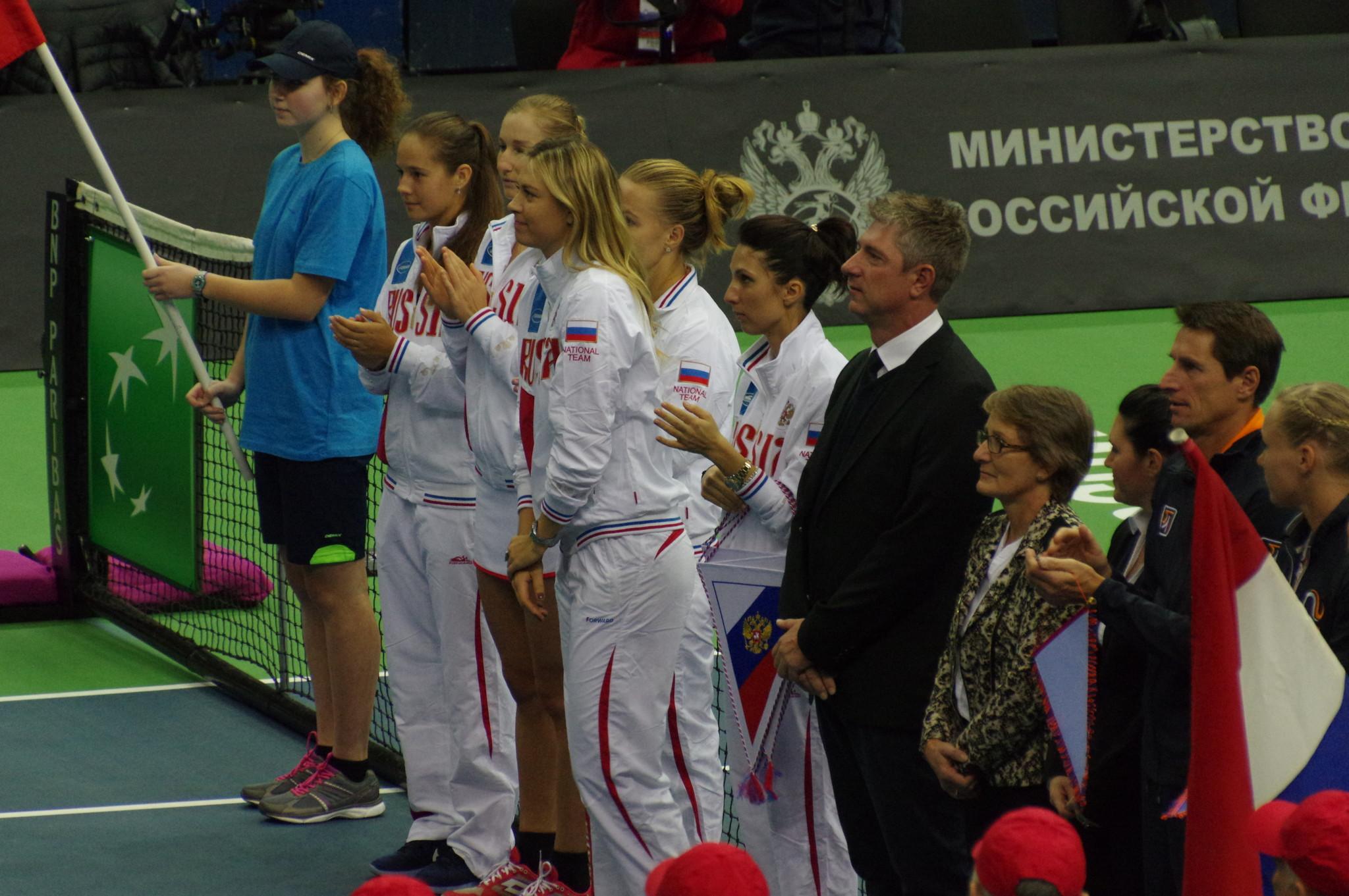 Женская сборная России по теннису