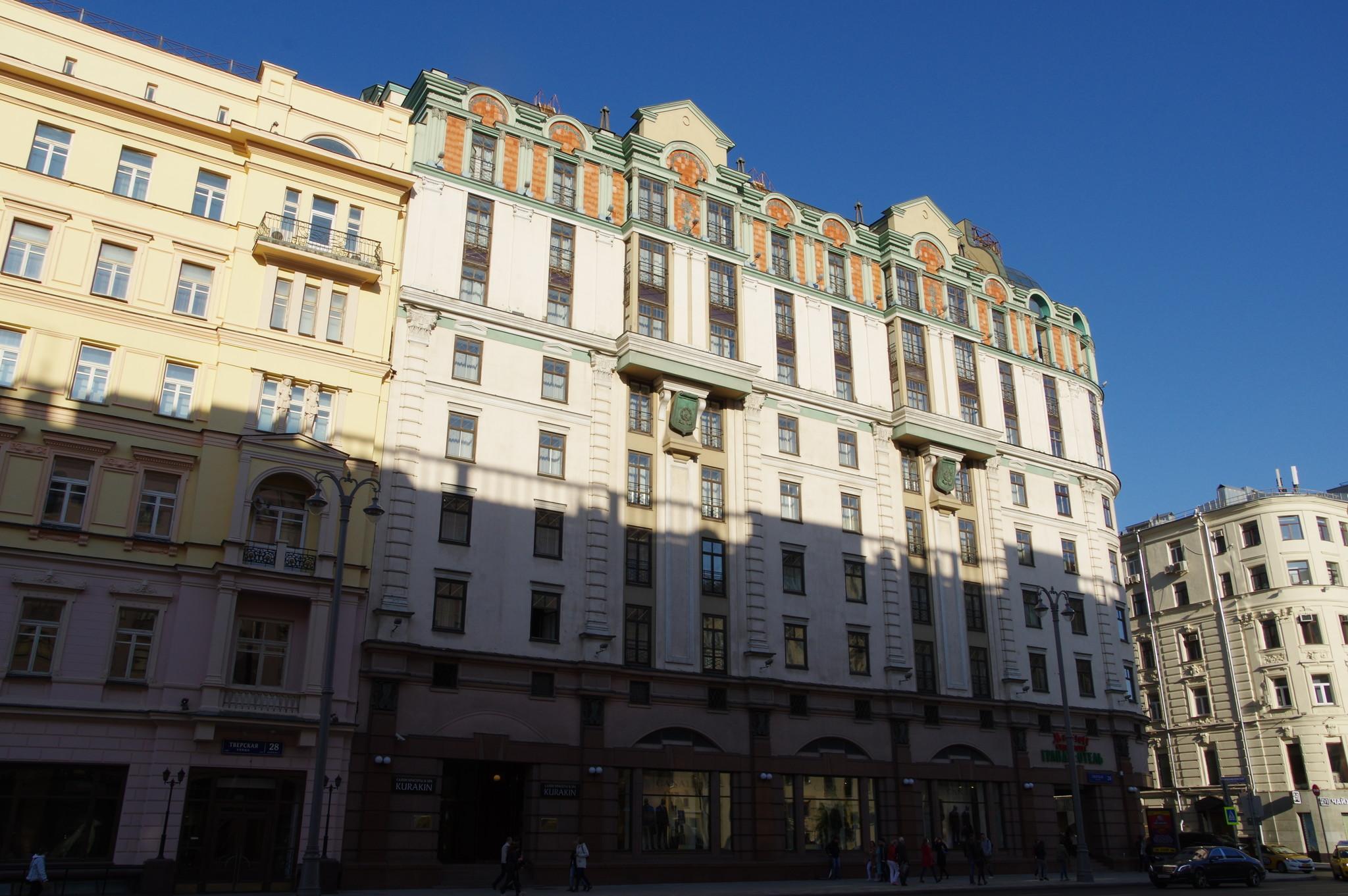Гостиница «Марриотт Грандъ-Отель» (Тверская улица, дом 26)