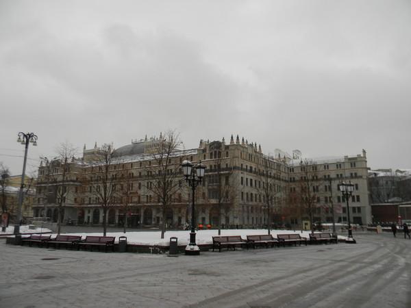 Гостиница «Метрополь» (Театральный проезд, дом 2)