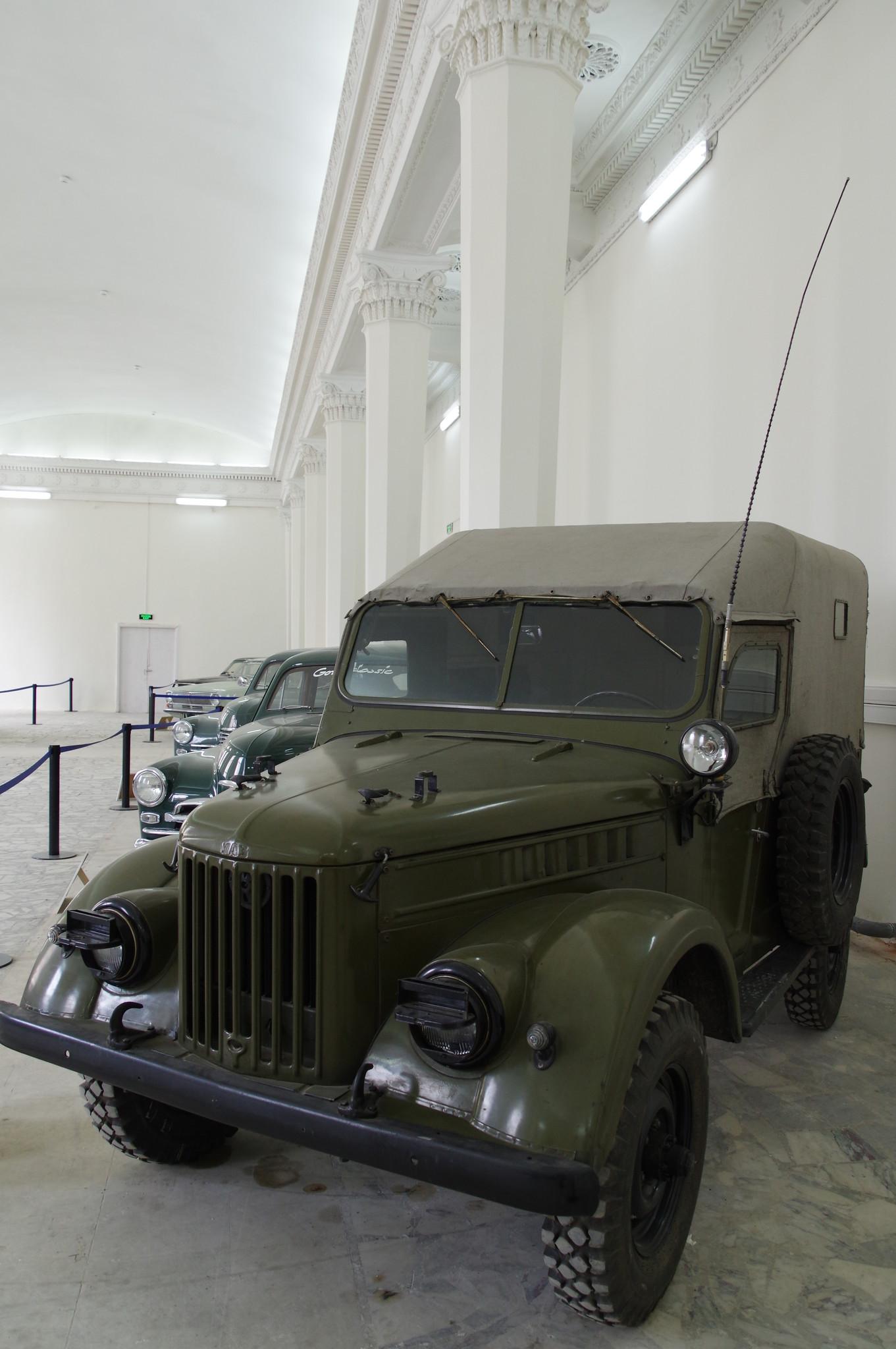 Автомобиль ГАЗ-69