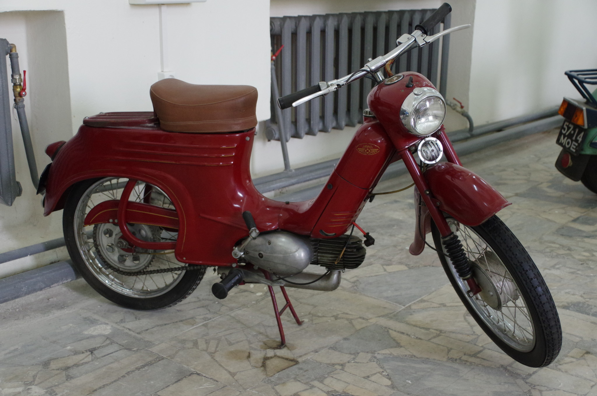 Мопед Jawa Pioneer 50 Typ 555 1958 года выпуска