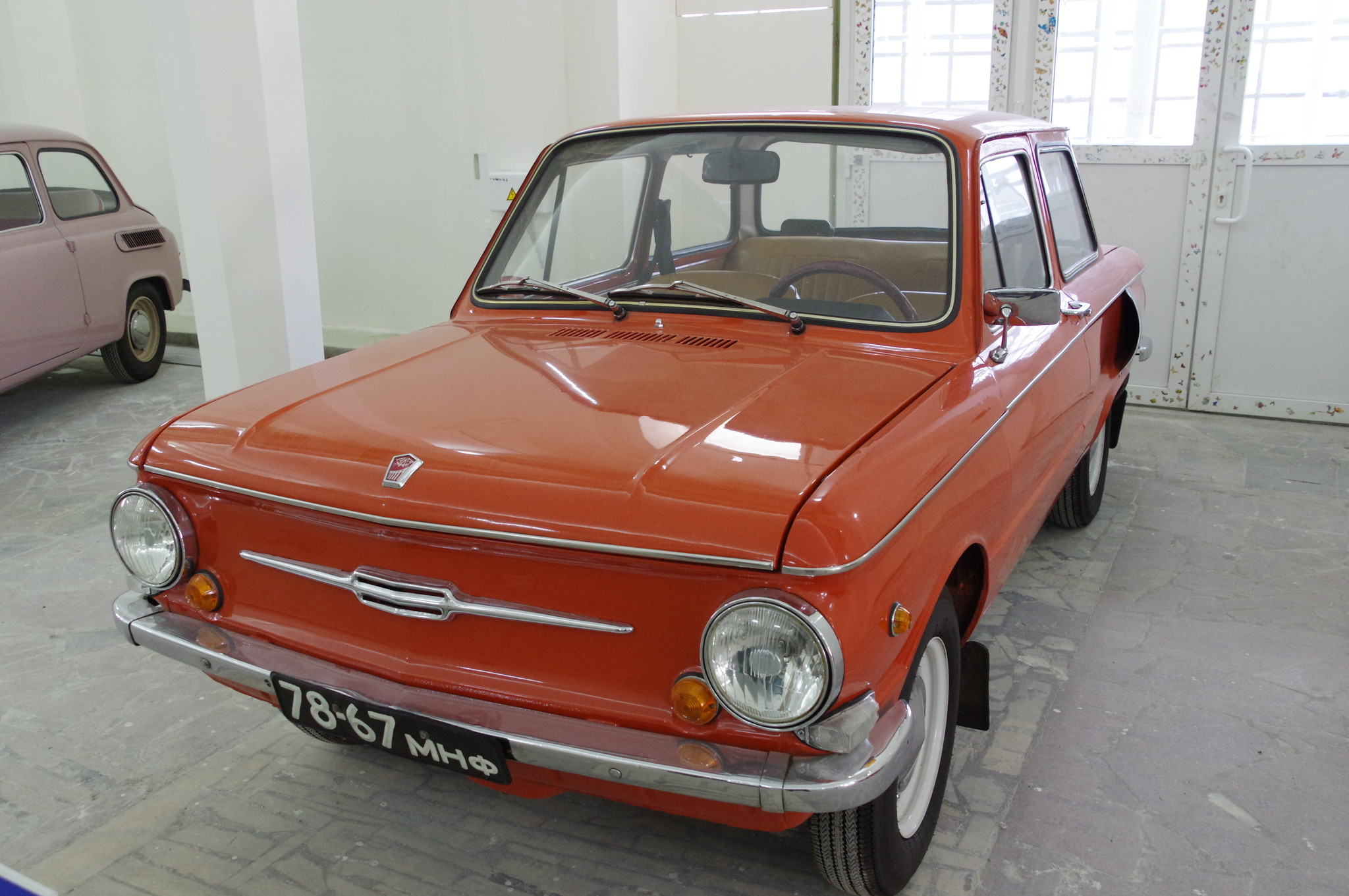 Автомобиль ЗАЗ-968А «Запорожец»