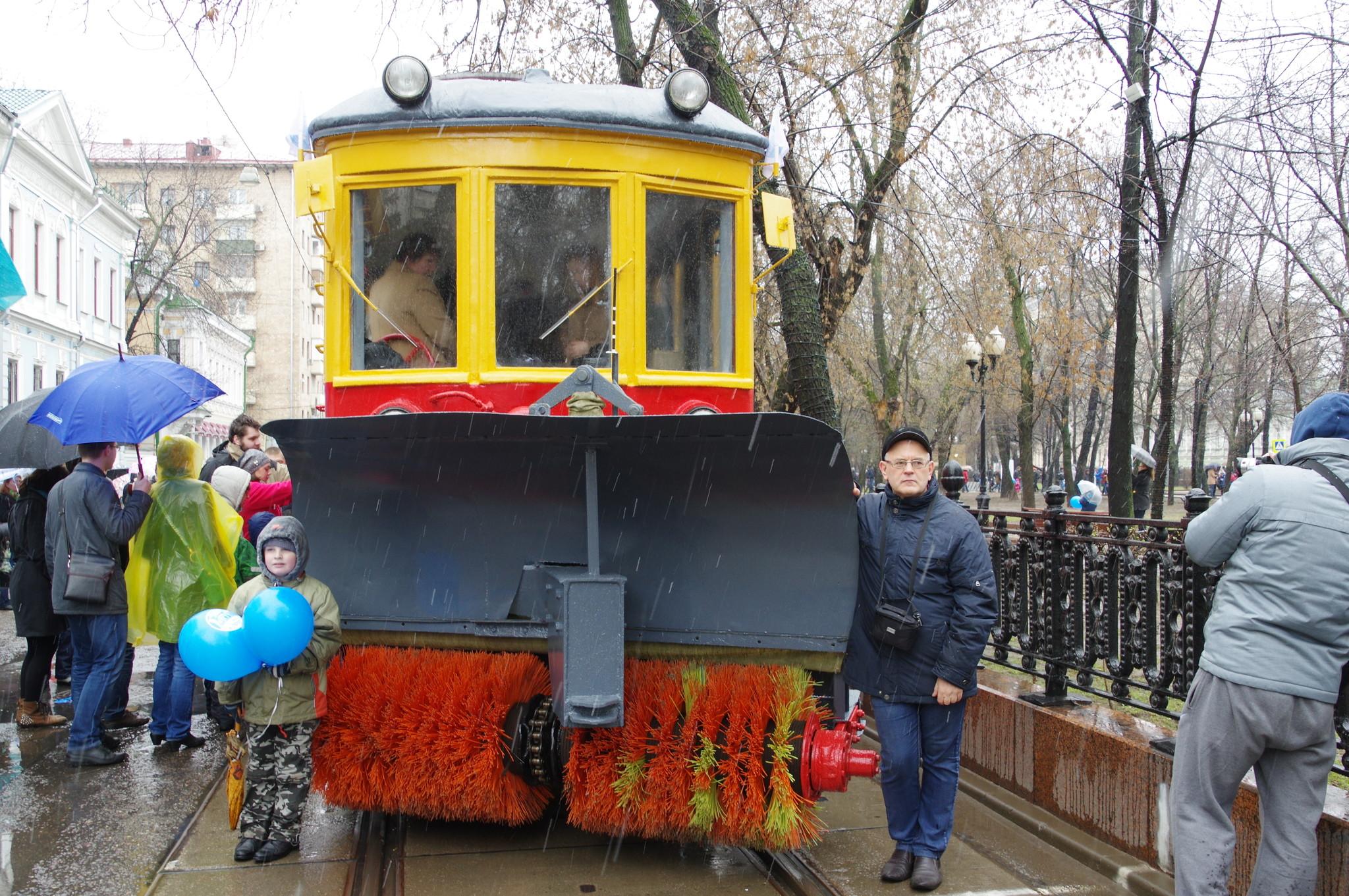 Парад трамваев 16 апреля 2016 года