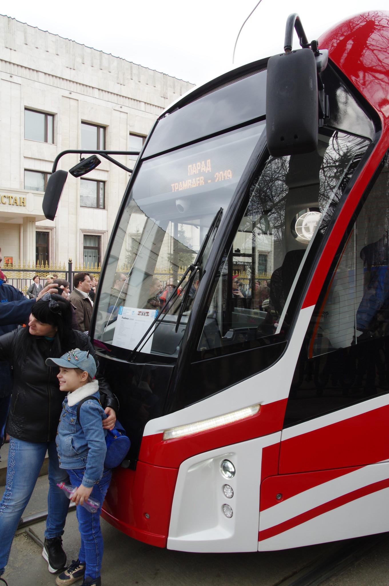 Односекционный трамвай 71-911 ЕМ «Львёнок» (Lionet)