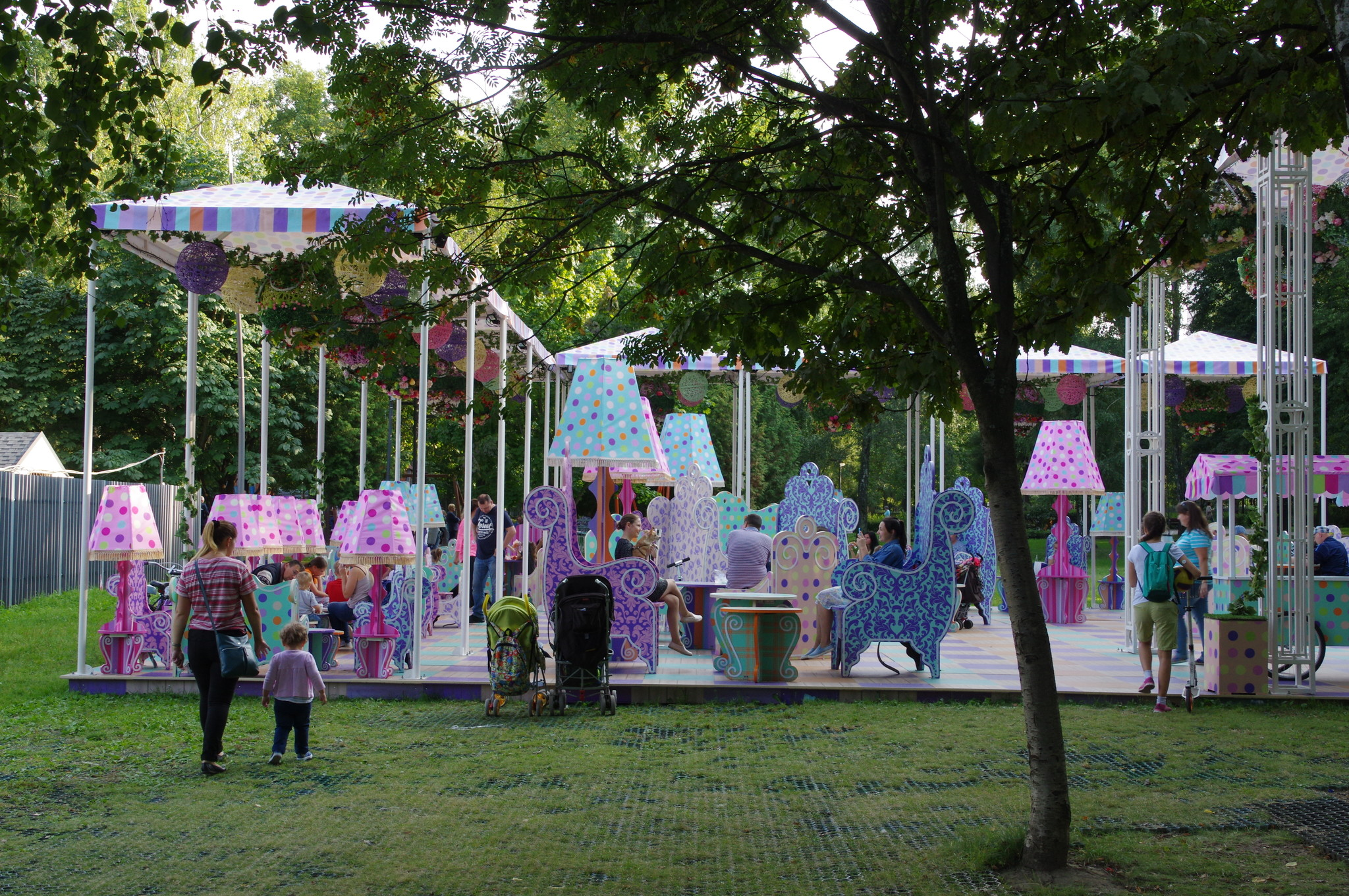 В Лианозовском парке культуры и отдыха