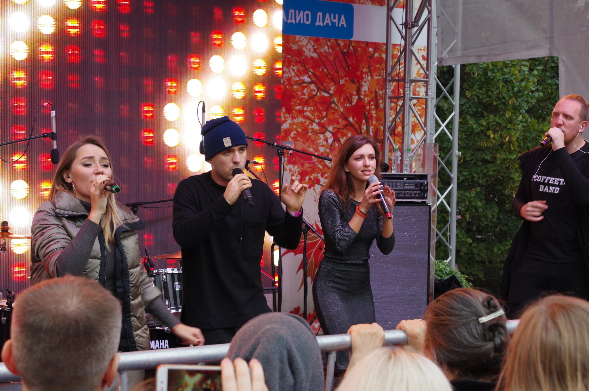 Концерт на фестивале «Золотая осень»