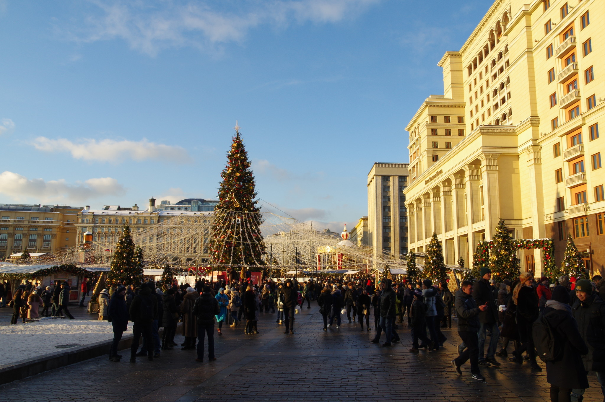 VI фестиваль «Путешествие в Рождество» в Москве