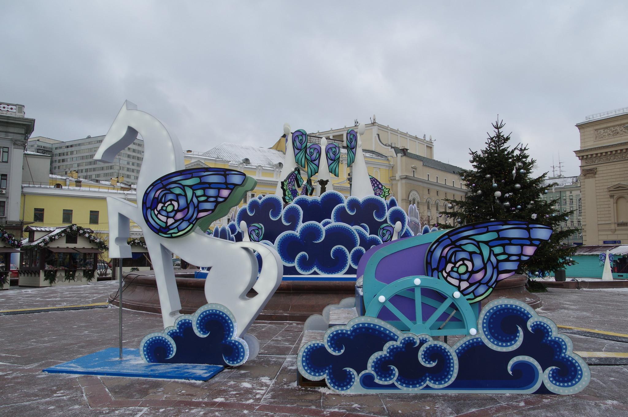 Фестиваль «Путешествие в Рождество» в Москве