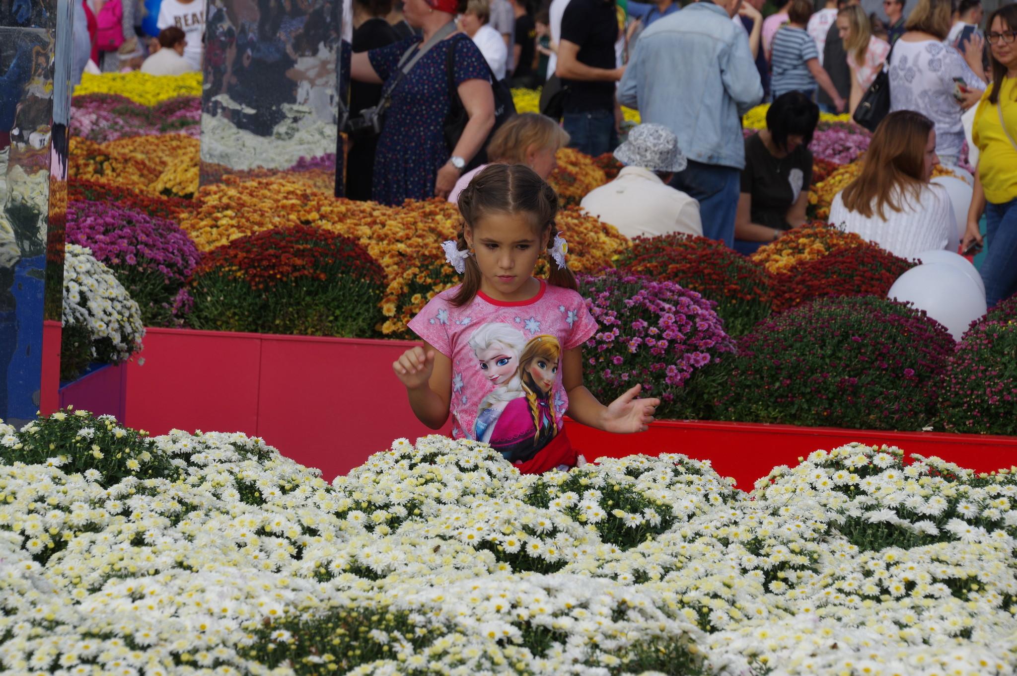 Фестиваль «Цветочный джем» на Манежной площади