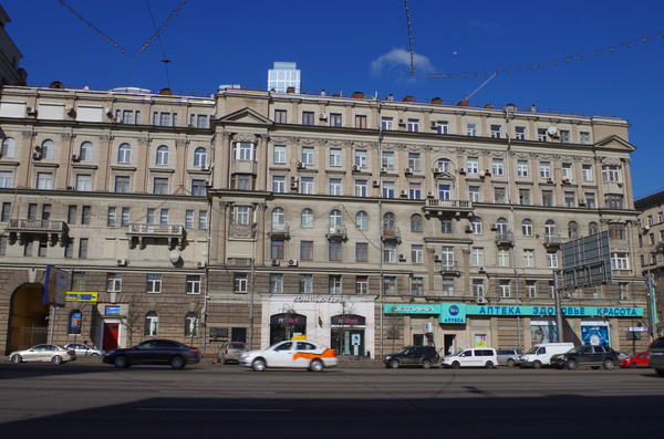 Дом 26 по Кутузовскому проспекту в Москве, в котором Леонид Ильич Брежнев прожил около 30 лет