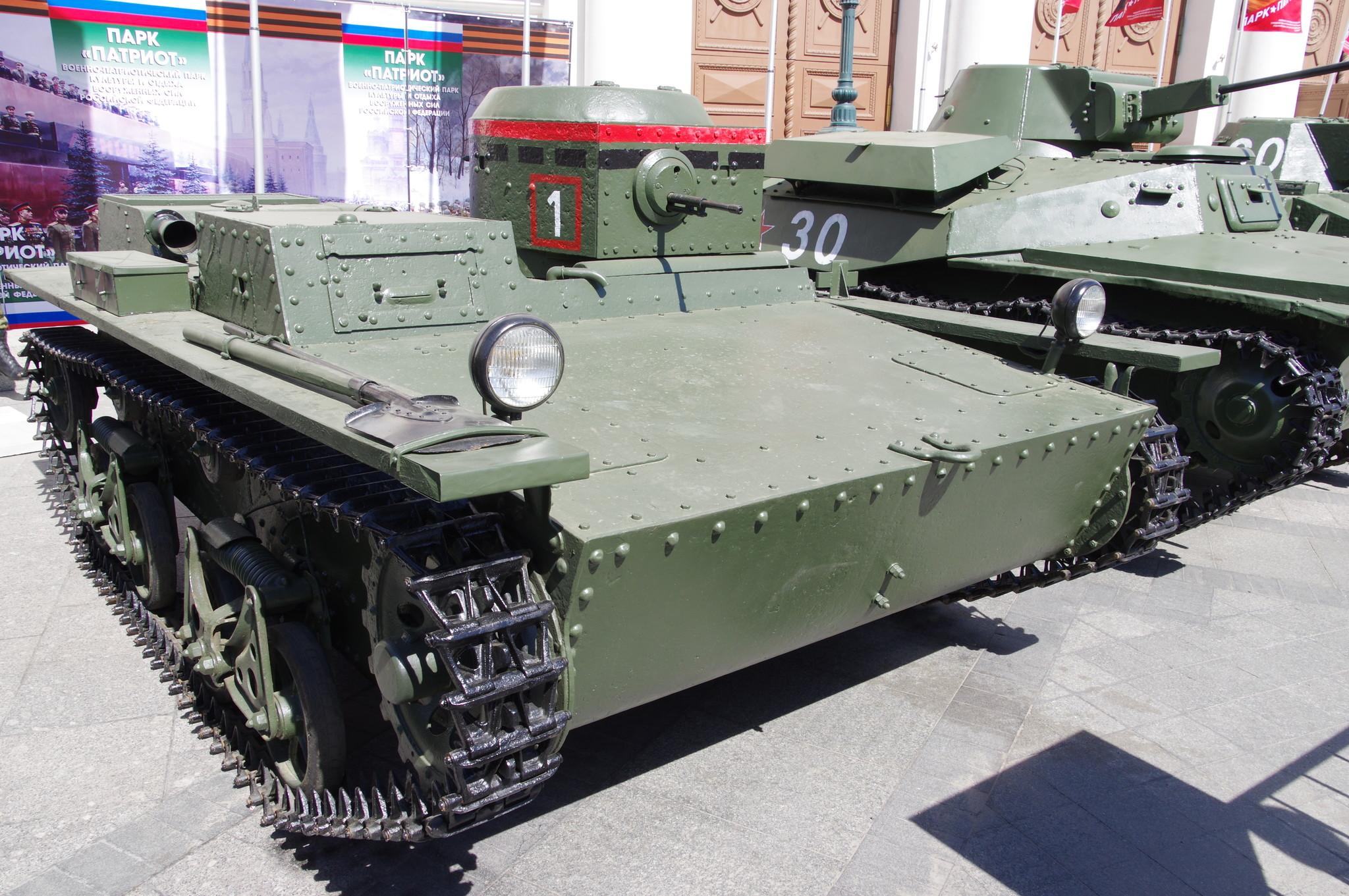 Лёгкий плавающий танк Т-38