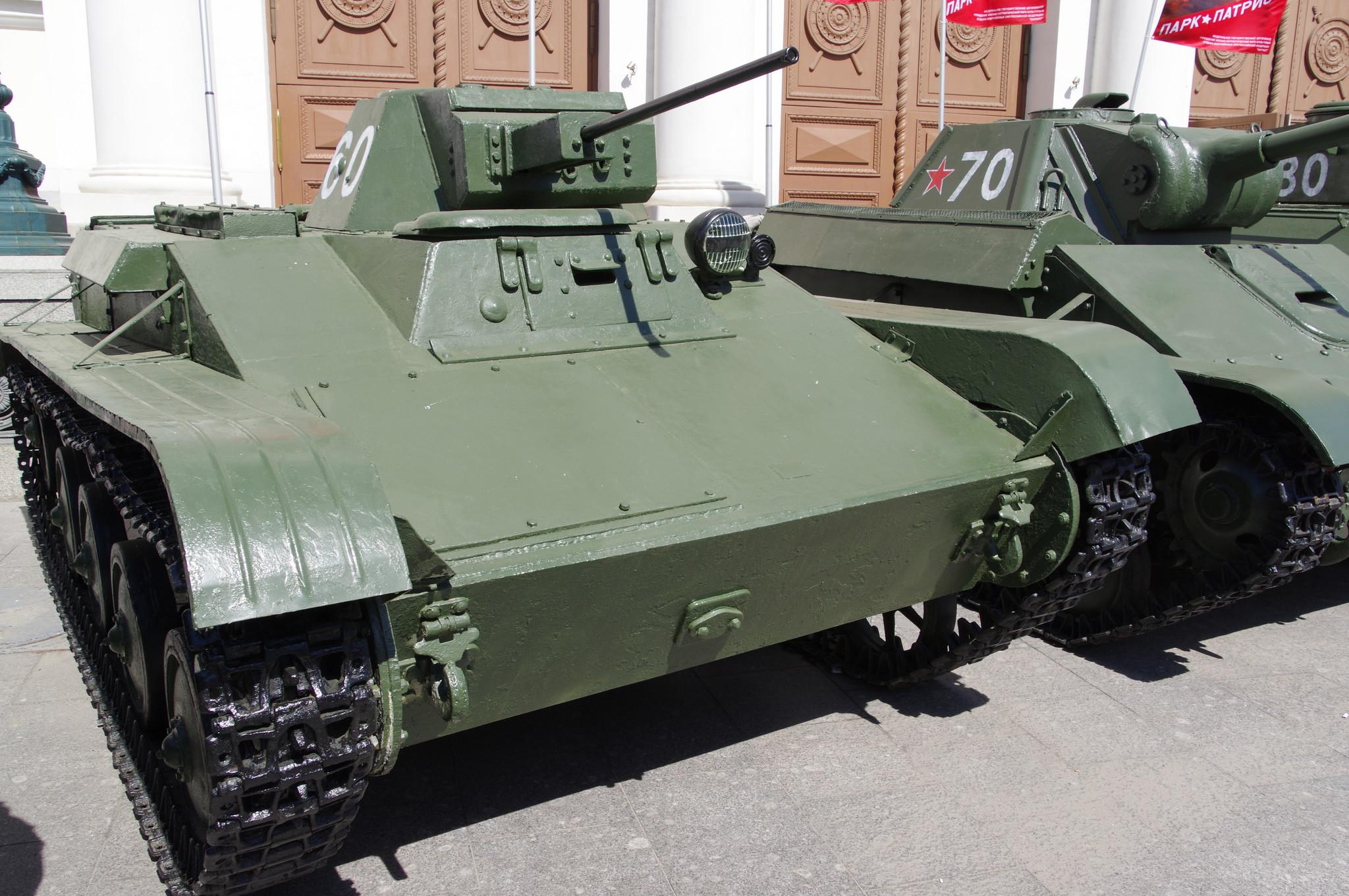 Лёгкий танк Т-60