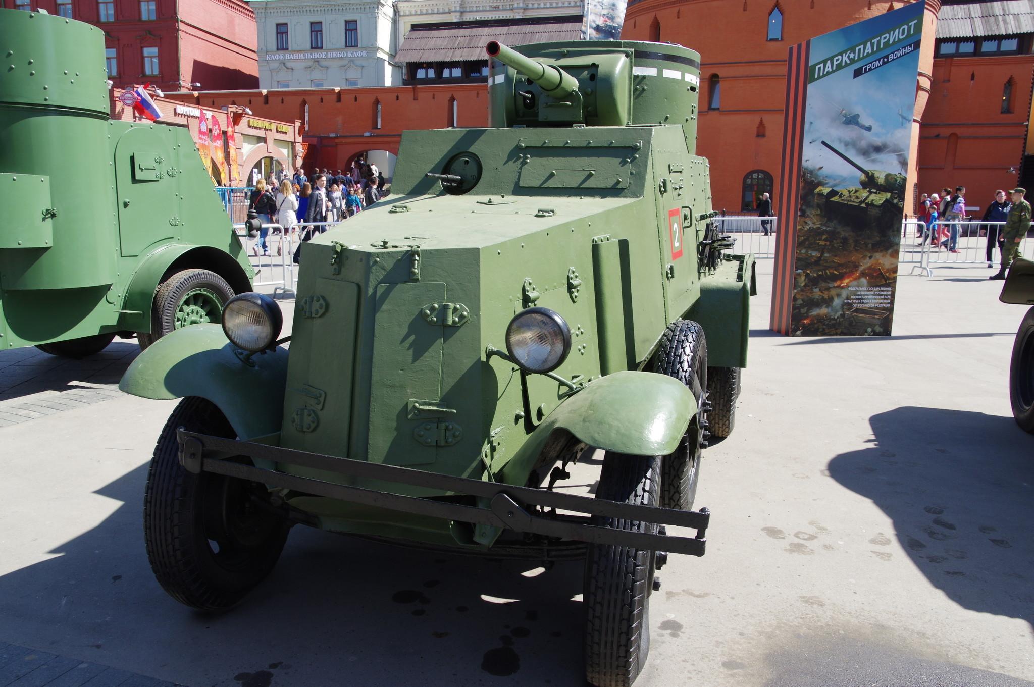 Средний бронеавтомобиль БА-3М