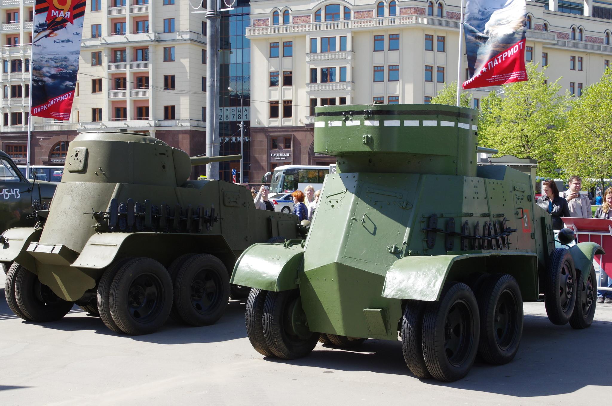Средние бронеавтомобили БА-10А и ТА-3М