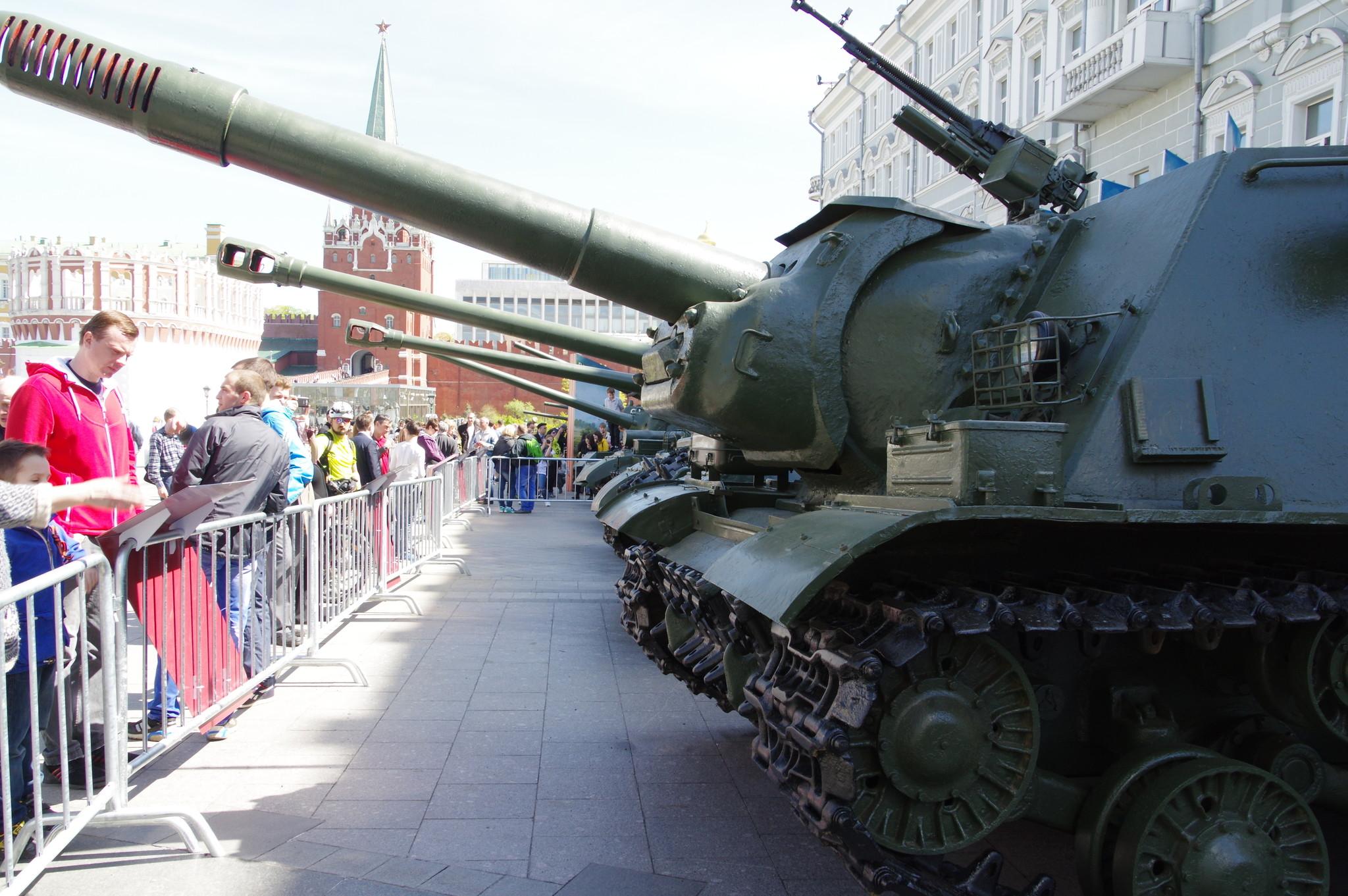 Тяжёлая самоходно-артиллерийская установка ИСУ-152М