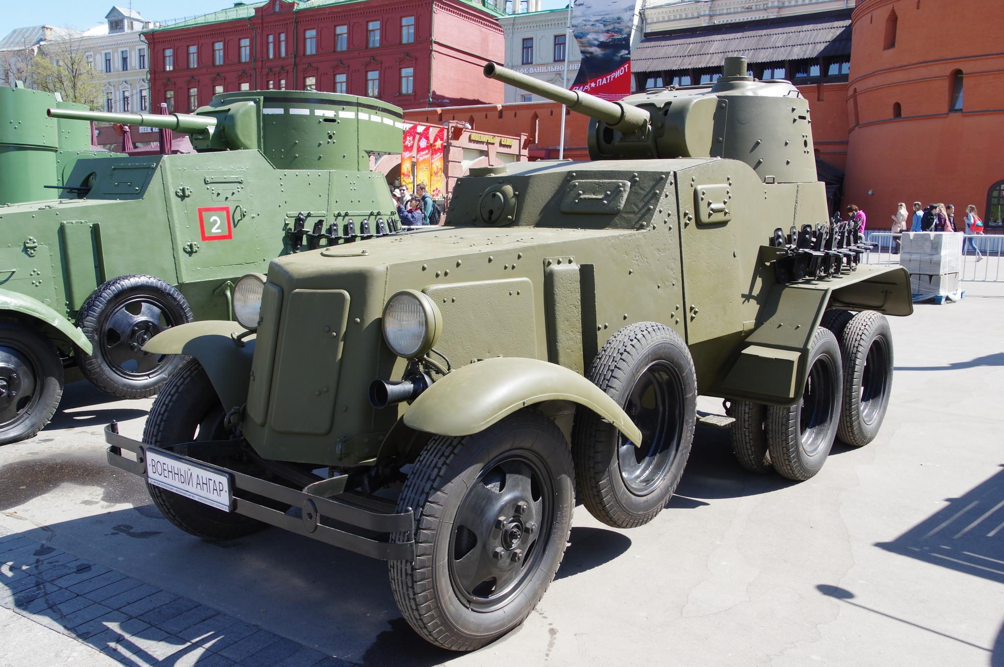 Средний бронеавтомобиль БА-10А