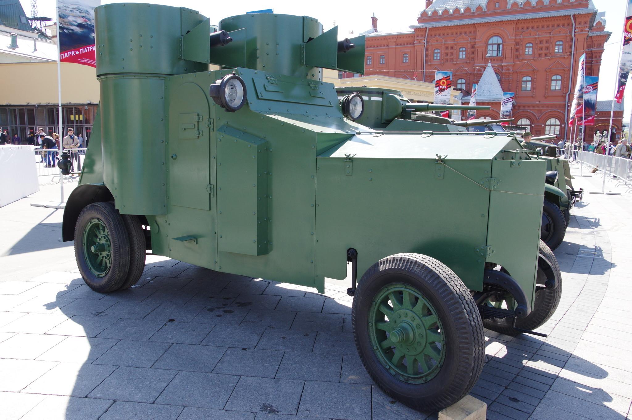Бронеавтомобиль «Фиат» Ижорского завода