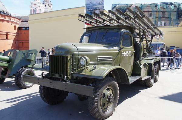 Система залпового огня БМ-13Н на шасси ЗИЛ-151