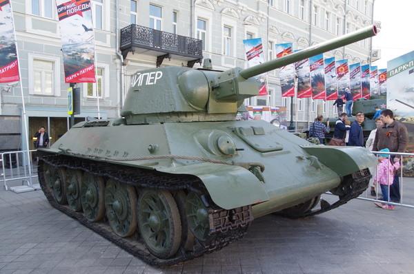 Средний танк Т-34 обр. 1942 г. «Снайпер»