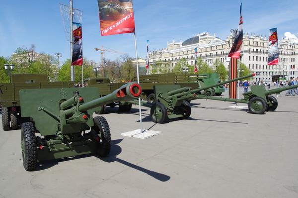 Грабинские пушки ЗИС-3 и ЗИС-2