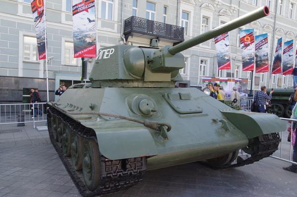 Средний танк Т-34-76 обр. 1942 г. «Снайпер»