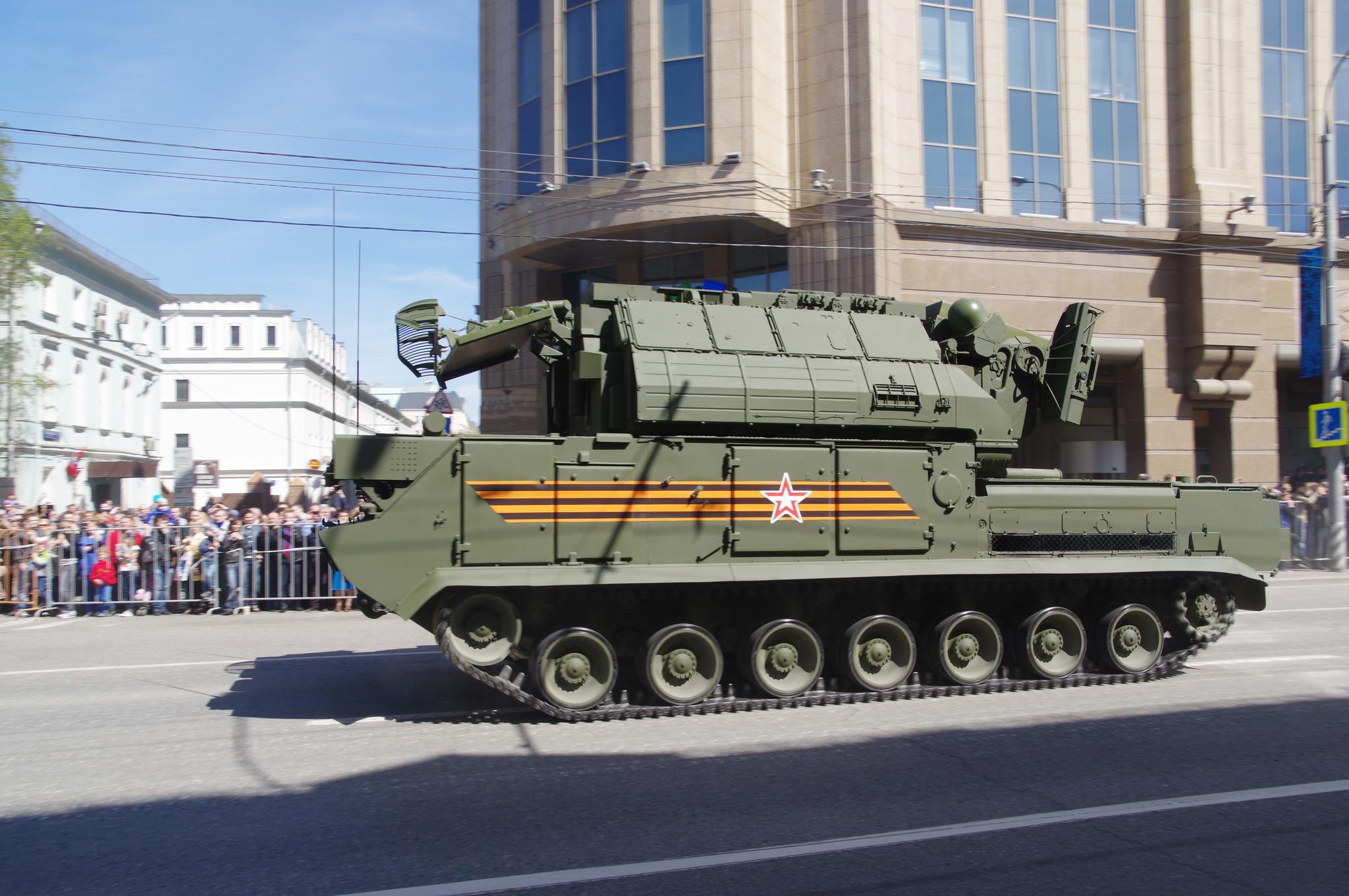 Всепогодный тактический зенитный ракетный комплекс «Тор-М2»