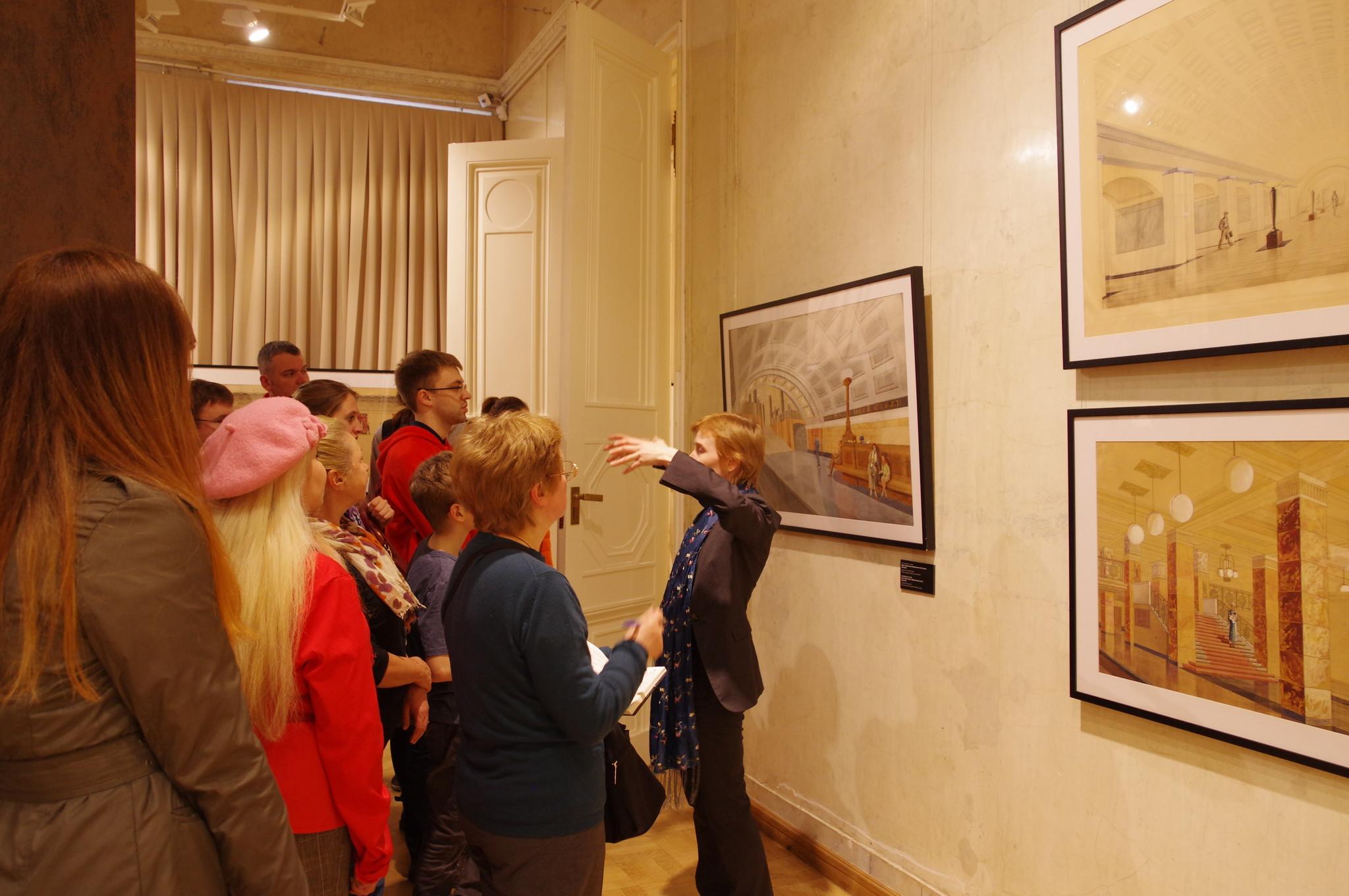 В Государственном музее архитектуры имени А.В. Щусева