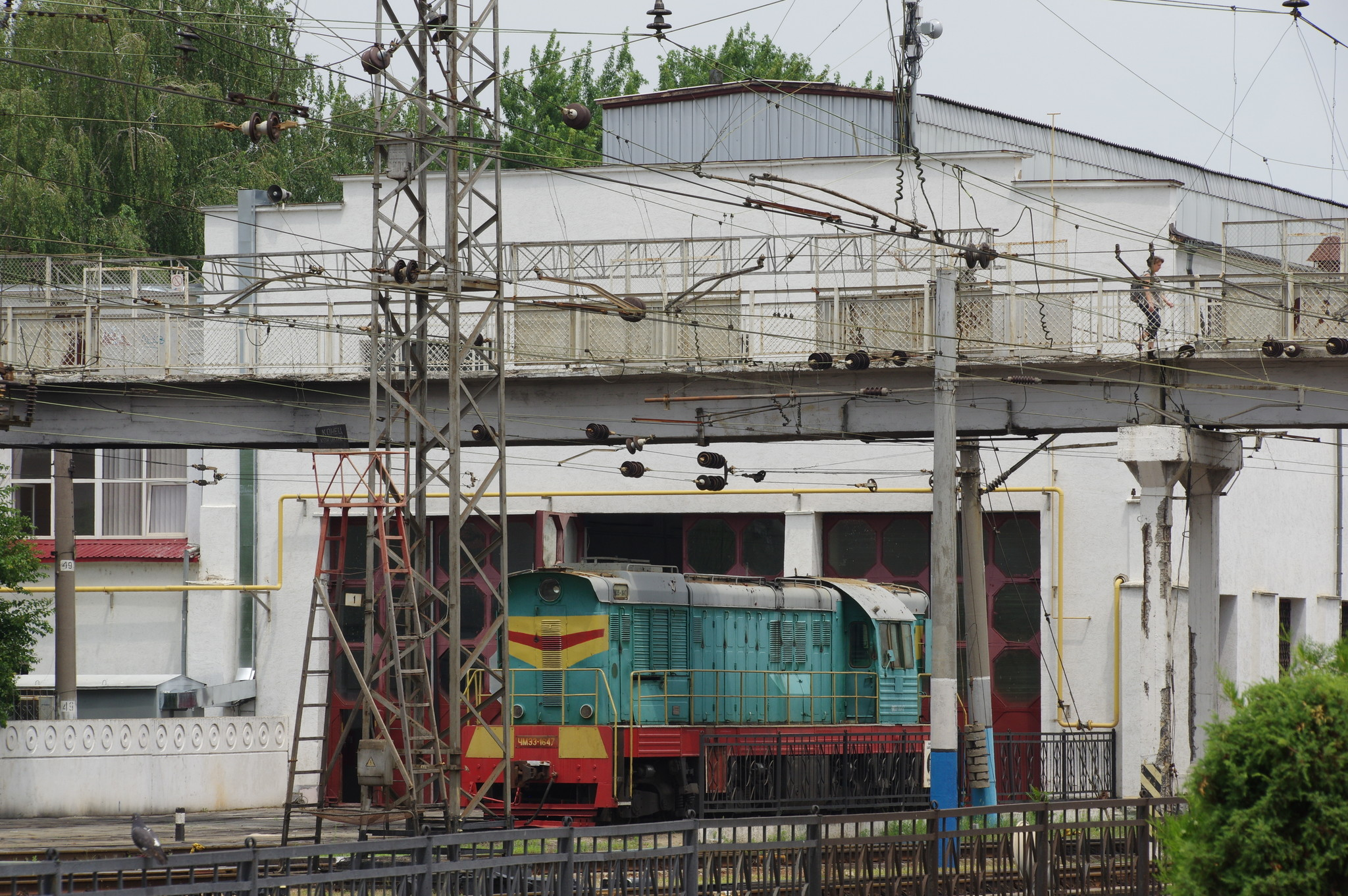 На станции Симферополь