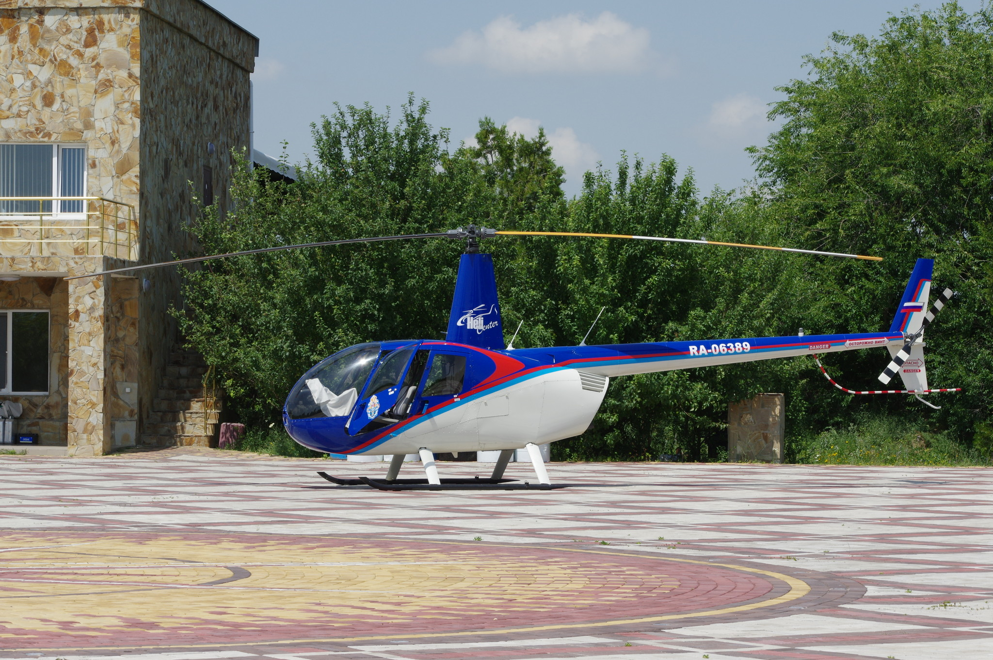 Лёгкий вертолёт Robinson R44