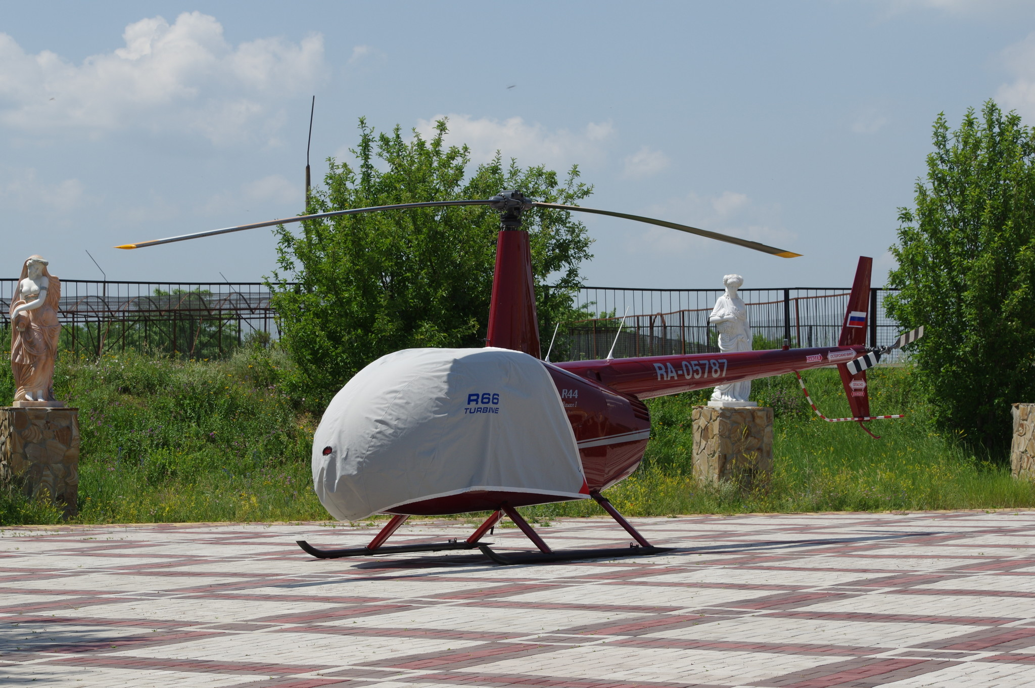 Лёгкий вертолёт Robinson R44 Raven I (RA-05787)
