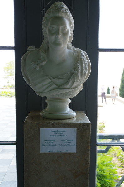 Портрет Екатерины II в Воронцовском дворце. Иоганн Эстеррейх